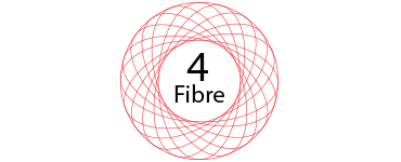 4 FIBRE AND BROADBAND logo