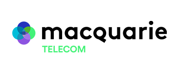 MACQUARIE TELECOM logo