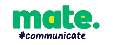 MATE COMMUNICATE logo