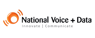 NATIONAL VOICE AND DATA logo