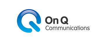 ON Q COMMUNICATIONS logo