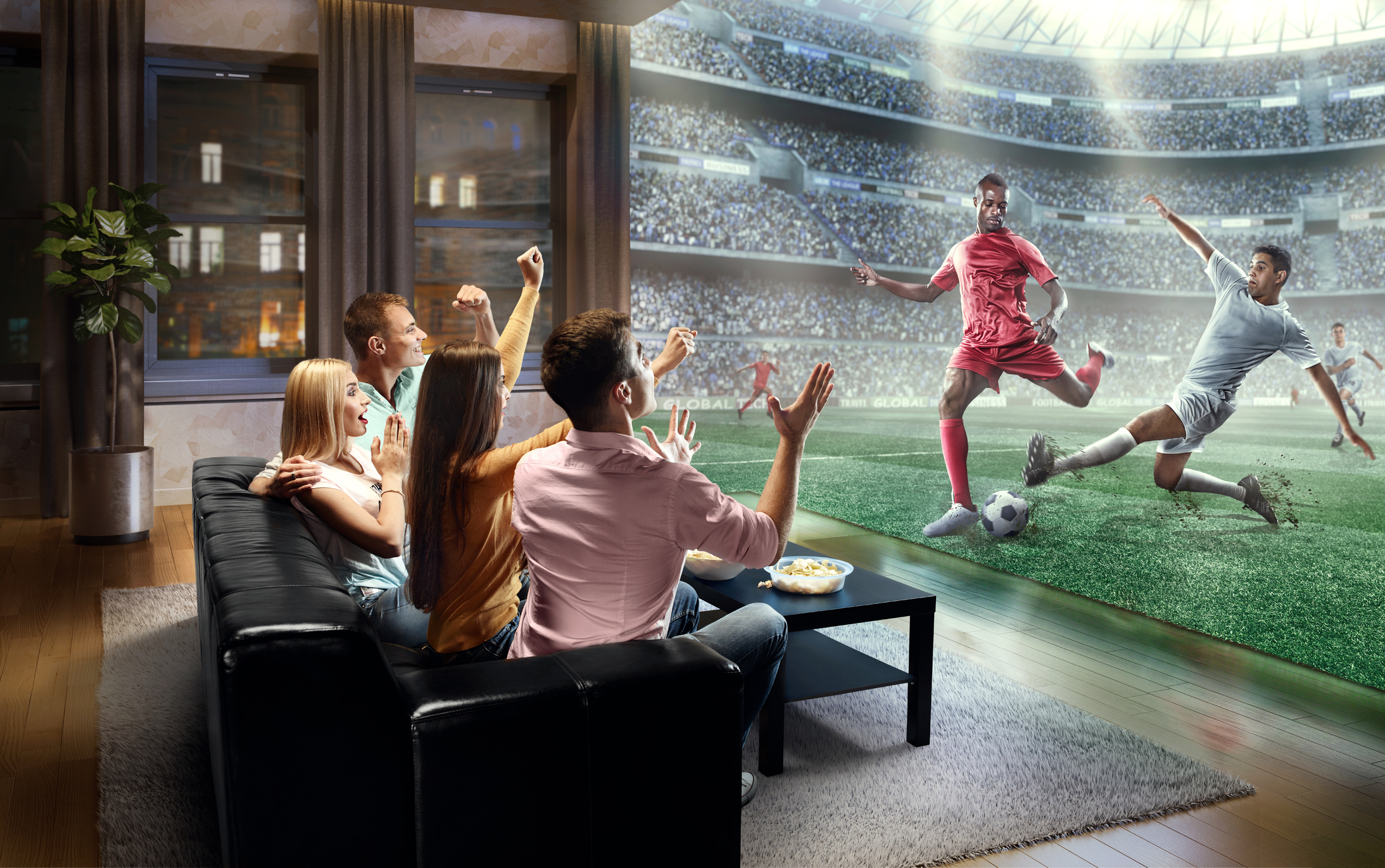 Game, net, match: Aussies use tech to turn homes into sports stadiums