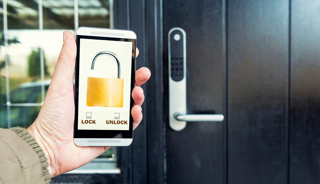 Technology Management Image: Smart Locks Explained: Smart Security For A Connected Home